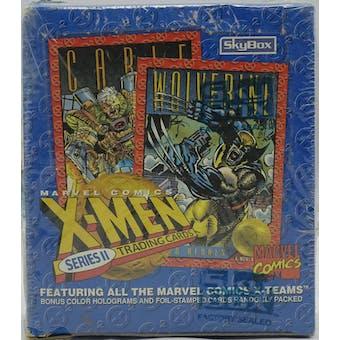 X-Men Series 2 Wax Box (1993 Skybox)