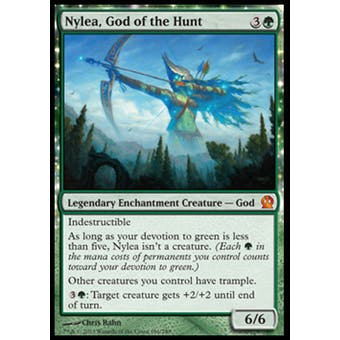 Magic the Gathering Theros Single Nylea, God of the Hunt - NEAR MINT (NM)
