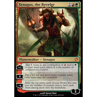Magic the Gathering Theros Single Xenagos, the Reveler - NEAR MINT (NM)