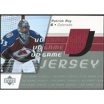 2002/03 Upper Deck Game Jersey Series II #GJPR Patrick Roy