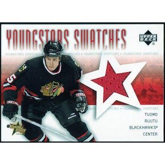 2004/05 Upper Deck YoungStars #YSTR Tuomo Ruutu