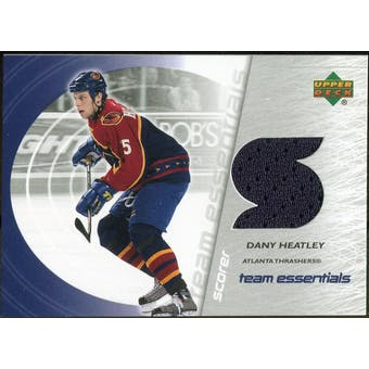 2003/04 Upper Deck Team Essentials #TSDH Dany Heatley