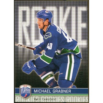 2008/09 Upper Deck Be A Player #RR295 Michael Grabner XRC /99
