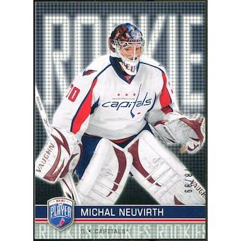 2008/09 Upper Deck Be A Player #RR317 Michal Neuvirth XRC /99