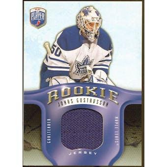2008/09 Upper Deck Be A Player Rookie Redemption Bonus #RR284 Jonas Gustavsson Jersey /99