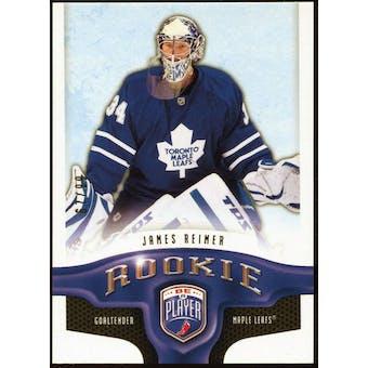 2008/09 Upper Deck Be A Player Rookie Redemption Bonus #RR297 James Reimer /99
