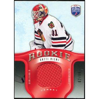 2008/09 Upper Deck Be A Player Rookie Redemption Bonus #RR313 Antti Niemi Jersey /99