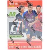 2018/19 Panini Donruss Soccer 11-Pack Blaster Box