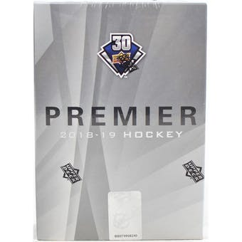 2018/19 Upper Deck Premier Hockey 10-Box Case- DACW Live 31 Team Random Break #1