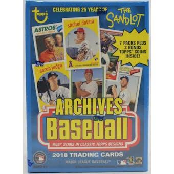 2018 Topps Archives Baseball Blaster Box