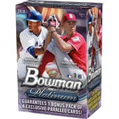 2018 Topps Bowman Platinum Baseball 8-Pack Blaster Box