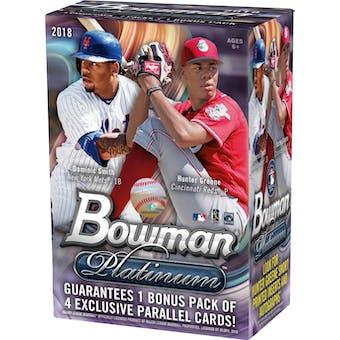 2018 Bowman Platinum Baseball 8-Pack Blaster Box