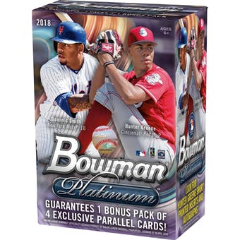 2018 Bowman Platinum Baseball 8-Pack Blaster Box