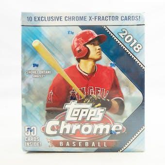 2018 Topps Chrome Baseball Mega Box