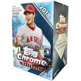 2018 Topps Chrome Baseball 8-Pack Blaster Box