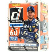 2018 Panini Donruss Racing 6-Pack Blaster Box