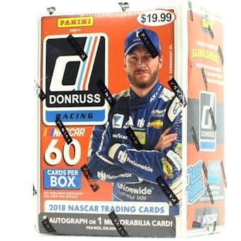 2018 Panini Donruss Racing 6-Pack Blaster Box