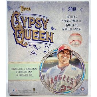 2018 Topps Gypsy Queen Baseball Monster Box