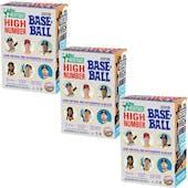 2018 Topps Heritage High Number Baseball 8-Pack Blaster Box (Lot of 3)
