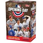 2018 Topps Opening Day Baseball 11-Pack Blaster Box