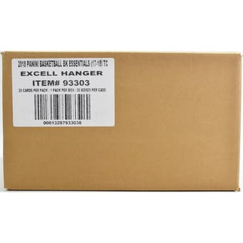 2017/18 Panini Essentials Basketball Hanger 36-Box Case
