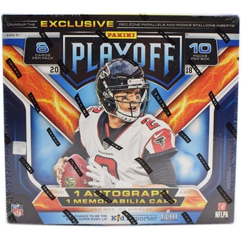 2018 Panini Playoff Football Mega Box