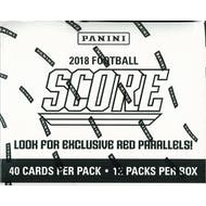2018 Panini Score Football 12-Pack Jumbo Box