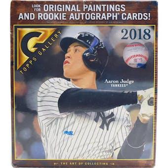 2018 Topps Gallery Baseball 20-Pack Box