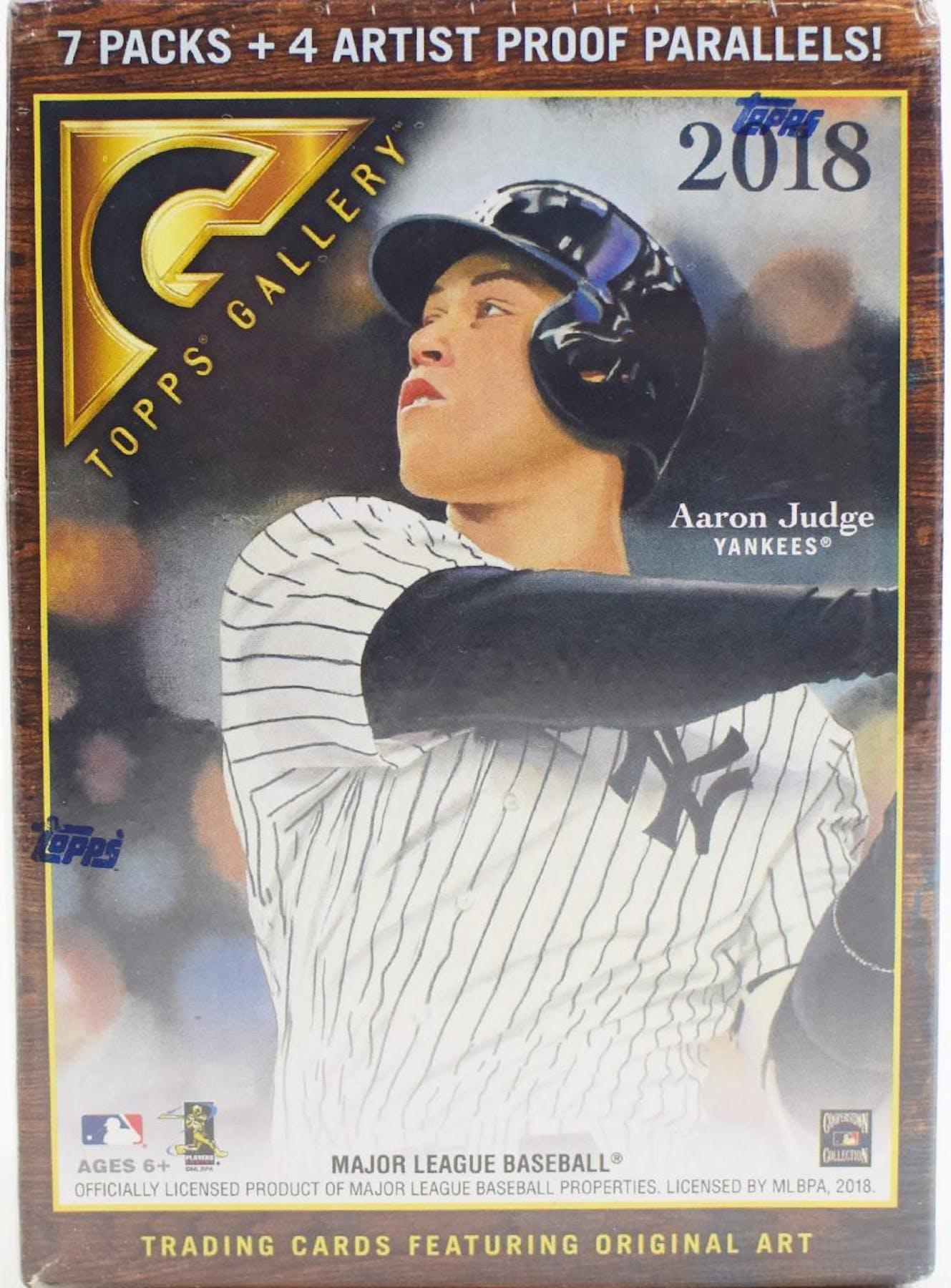 2018 Topps Gallery Baseball Blaster Box