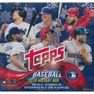 2018 Topps Holiday Baseball Mega Box