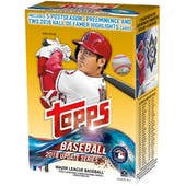 2018 Topps Update Series Baseball 10-Pack Blaster Box