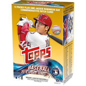 2018 Topps Update Series Baseball 12-Pack Blaster Box (Fanatics)
