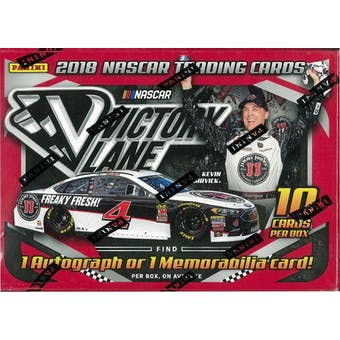 2018 Panini Victory Lane Racing Blaster Box