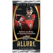 2019/20 Upper Deck Allure Hockey Hobby Pack