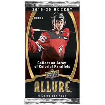 2019/20 Upper Deck Allure Hockey Hobby Pack