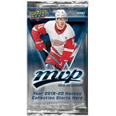 2019/20 Upper Deck MVP Hockey Hobby Pack
