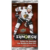 2019/20 Upper Deck Synergy Hockey Hobby Pack