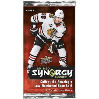 2019/20 Upper Deck Synergy Hockey Hobby Pack