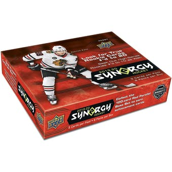 2019/20 Upper Deck Synergy Hockey Hobby 10-Box Case (Presell)
