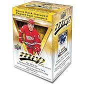 2019/20 Upper Deck MVP Hockey 21-Pack Blaster 20-Box Case