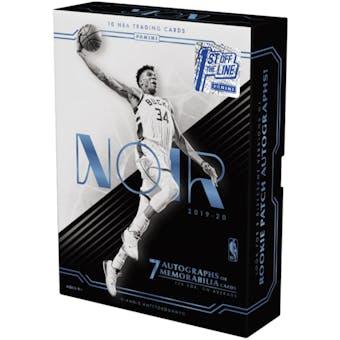 2019/20 Panini Noir 1st Off The Line Basketball Hobby Box