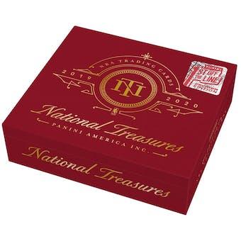 2019/20 Panini National Treasures 1st Off The Line Premium Edition Basketball Hobby Box