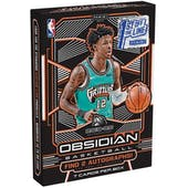2019/20 Panini Obsidian Basketball 1st Off The Line Hobby Box