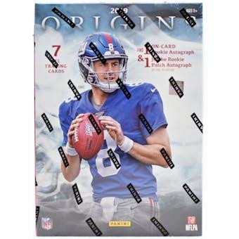 2019 Panini Origins Football 16-Box Case- DACW Live 32 Spot Pick Your Team Break #1