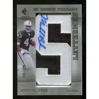 2007 Upper Deck SP Rookie Threads #135 Michael Bush Autograph /250