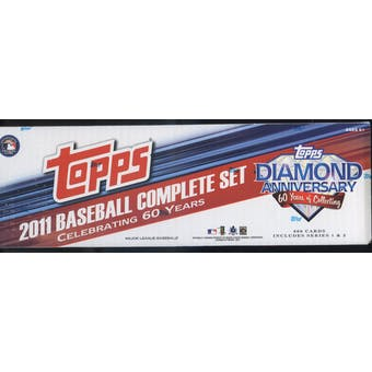 2011 Topps Diamond Anniversary Factory Set Baseball Hobby (Box)
