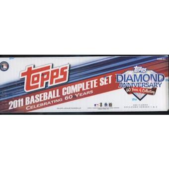 2011 Topps Diamond Anniversary Factory Set Baseball Hobby (Box)