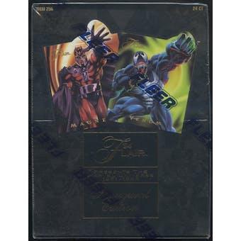 1994 Fleer Flair Marvel 24 Pack Wax Box