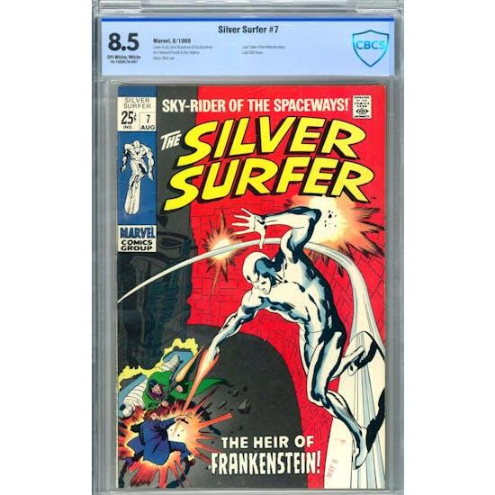 Silver Surfer #7 CBCS 8.5 (OW-W) *19-1CE6579-007*