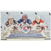 2019/20 Upper Deck AHL Hockey Hobby Box